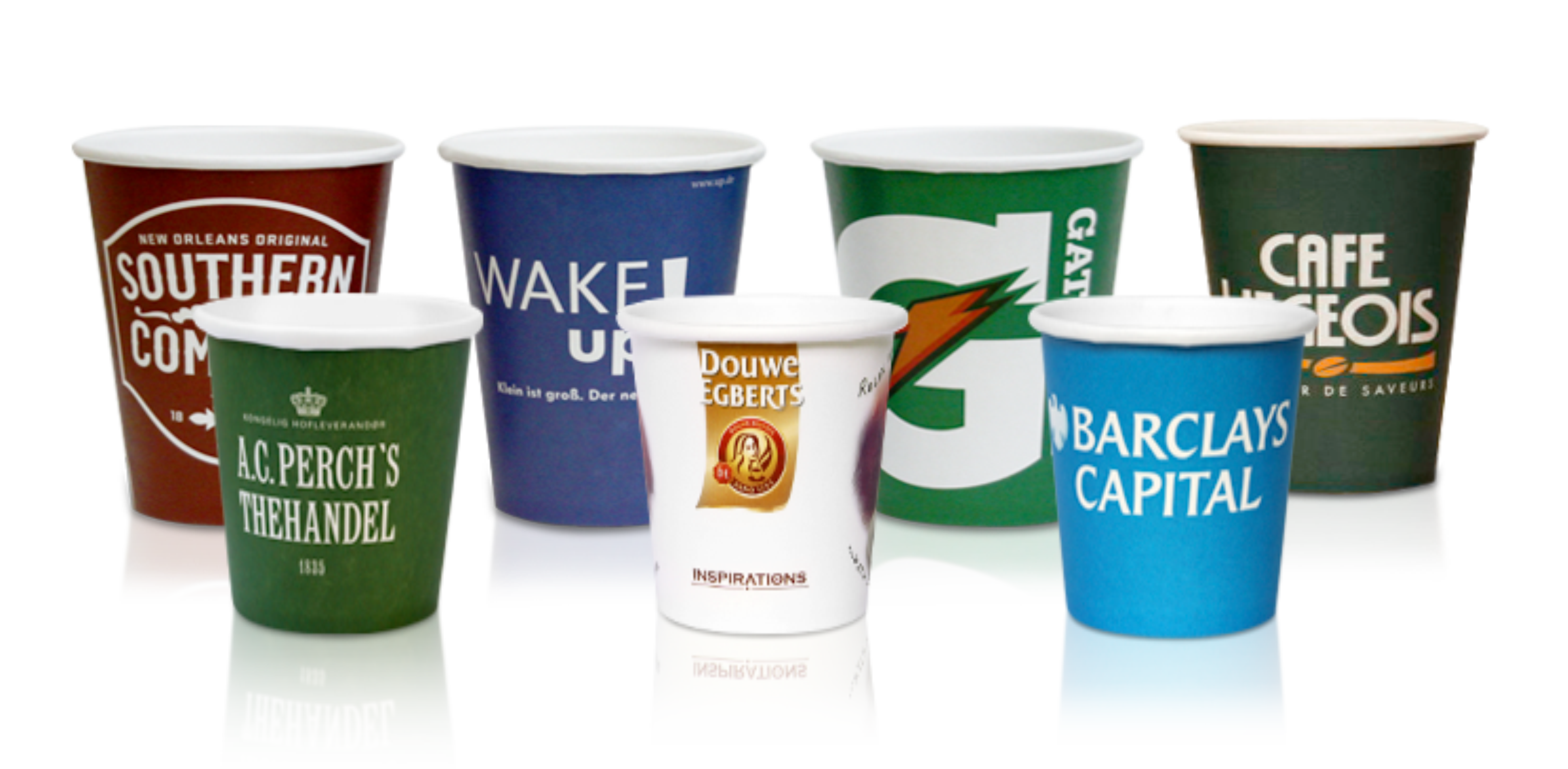 Custom Paper Cups With Logo Printed